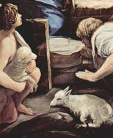 Гвидо Рени. Поклонение пастухов, деталь