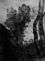 Камиль Коро. В окрестностях Рима