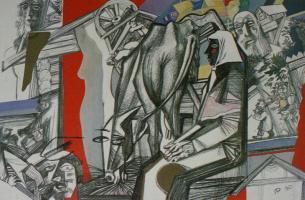 Дмитрий Евгеньевич Иконников. Жили-были старик со старухой. 1990
