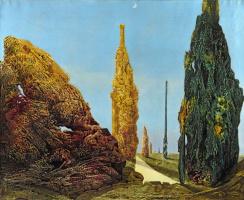 Макс Эрнст. Одинокое дерево