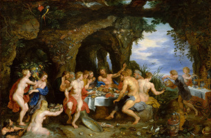 Peter Paul Rubens. The Feast Of Aheloy