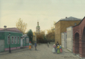 Iskander Ulumbekov. Krutitskaya street