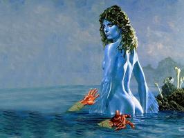 Уэйн Дуглас Барлоу. Девушка в воде