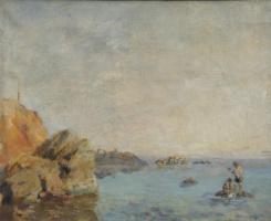 Николай Андреевич Шелюто. Рыболовы.