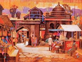 Рави Паранджап. Храм