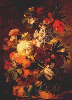Ян ван Хейсум. Цветы на выступ в ландшафте