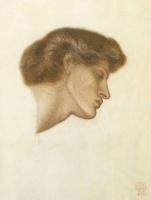Данте Габриэль Россетти. Профиль женщины