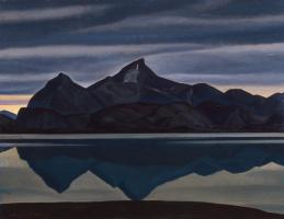 Рокуэлл Кент. Гора, отражающаяся в воде. Южная Гренландия