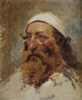 Василий Дмитриевич Поленов. Голова еврея