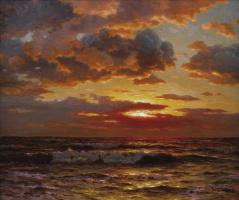 Ivan Choultsé. Sunset