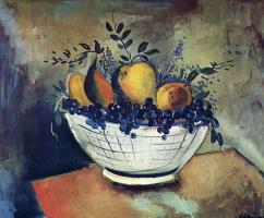 Морис де Вламинк. Натюрморт с виноградом