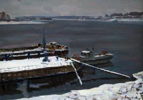 Юрий Сергеевич Казаков 1952г.р. Углич. Зима наступила.