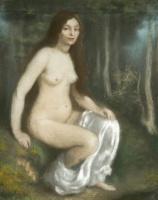 Луи Анкетен. Купальщица в пейзаже. 1890