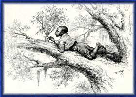 Томас Наст. 56 Резка омелы на юге