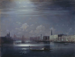 Night landscape. Venice