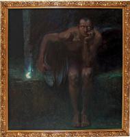 Franz von Pieces. Lucifer