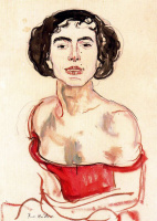 Фердинанд Ходлер. Испанская танцовщица