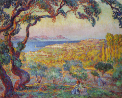 Henri Lebasque. In the Gulf of Saint-Tropez