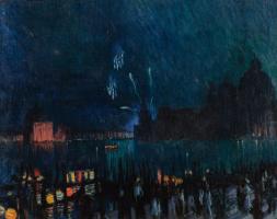 Boris Mikhailovich Kustodiev. Venice
