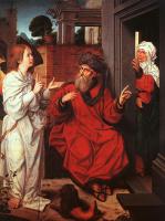 Ян Провост. Авраам Сара и ангел