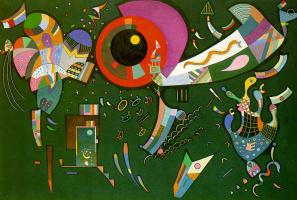 Wassily Kandinsky. Around the circle