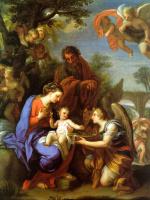 Джузеппе Киари. Мадонна с младенцем