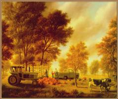 Томас Локер. Семейная ферма 01