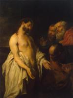 Антонис ван Дейк. Явление Христа ученикам (Неверие Фомы)