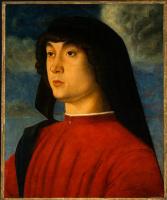 Джованни Беллини. Портрет молодого человека в красном