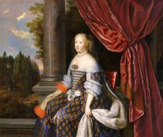 Жан Нокре. Портрет Марии-Терезии Австрийской, жены Людовика XIV.