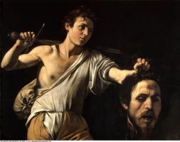 Микеланджело Меризи де Караваджо. Давид с головой Голиафа