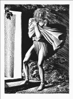 """Рокуэлл Кент. Иллюстрация к пьесе Шекспира """"Король Лир"""""""
