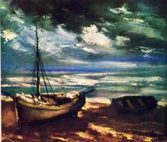 Морис де Вламинк. Тучи на берегу