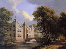 Генриетта Роннер-Книп. Замок в Хизе