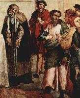 Лоренцо Лотто. Представление Господа в храме (фрагмент)