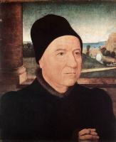 Ганс Мемлинг. Портрет старика