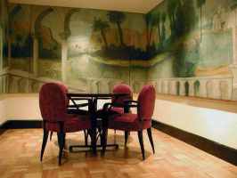 Persian Room. Mural. San Francisco.  Art studio Sergey Konstantinov San Francisco.