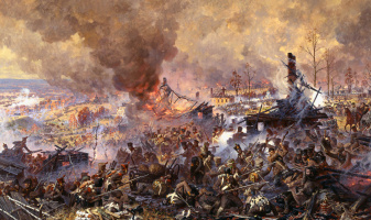 Aleksandr Yurievich Averyanov. The battle for Maloyaroslavets