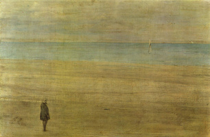James Abbot McNeill Whistler. Harmony in blue and silver: Trouville