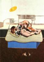 Фрэнсис Бэкон. Три этюда фигур на кроватях. Фрагмент