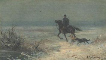 Алексей Данилович Кившенко. На охоту