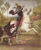 Рафаэль Санти. Битва св. Георгия с драконом
