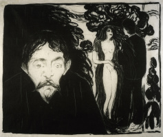 Edvard Munch. Jealousy