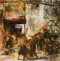 Николай Иванович Фешин. 1905 год на заводе