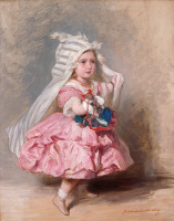 Франц Ксавер Винтерхальтер. Принцесса Беатрис, позже принцесса Генри Баттенберг