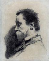 Жан-Франсуа Милле. Портрет мужчины