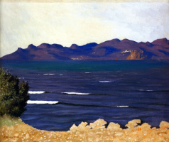 Felix Vallotton. The Esterel and the Bay of Cannes