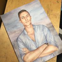 Alfiya Nafikova. Портрет молодому человеку