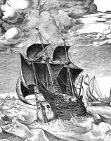 Питер Брейгель Старший. Корабль в бурном море