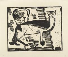 Karl Schmidt-Rottluff. Cats